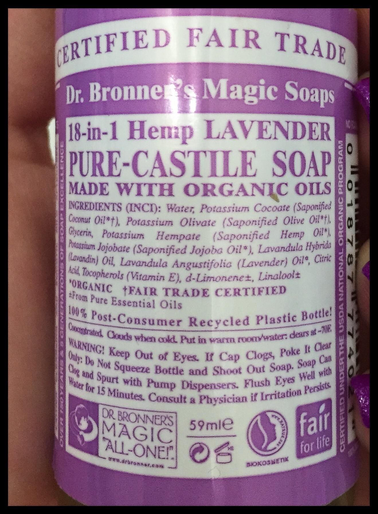 (dr.bronners magic soap)